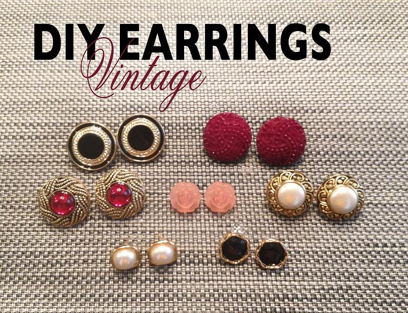 vintage earrings 1