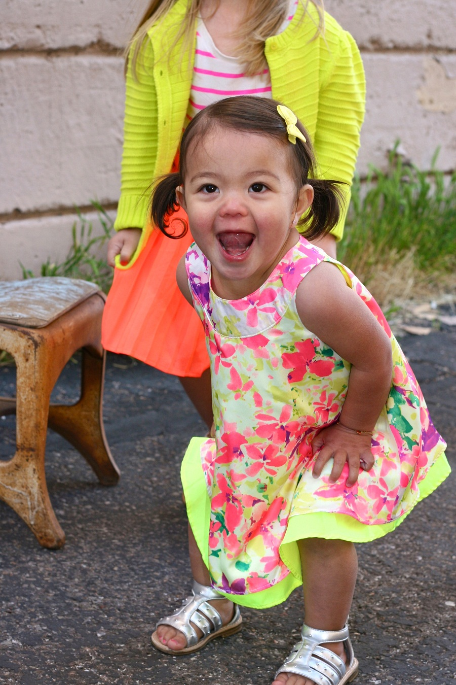 Little Girls Are The Cutest The Girl In The Yellow Dress