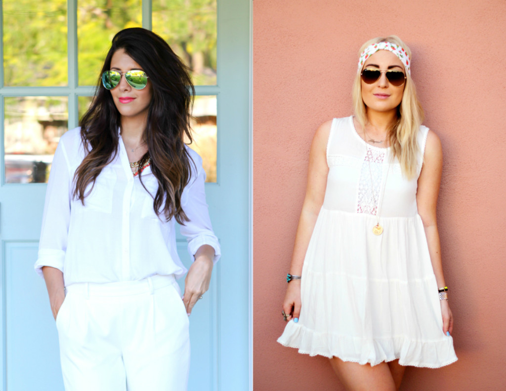 All White: Dressy + Casual & Giveaway…