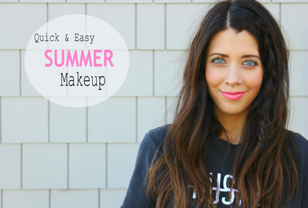 Quick & Easy Summer Makeup