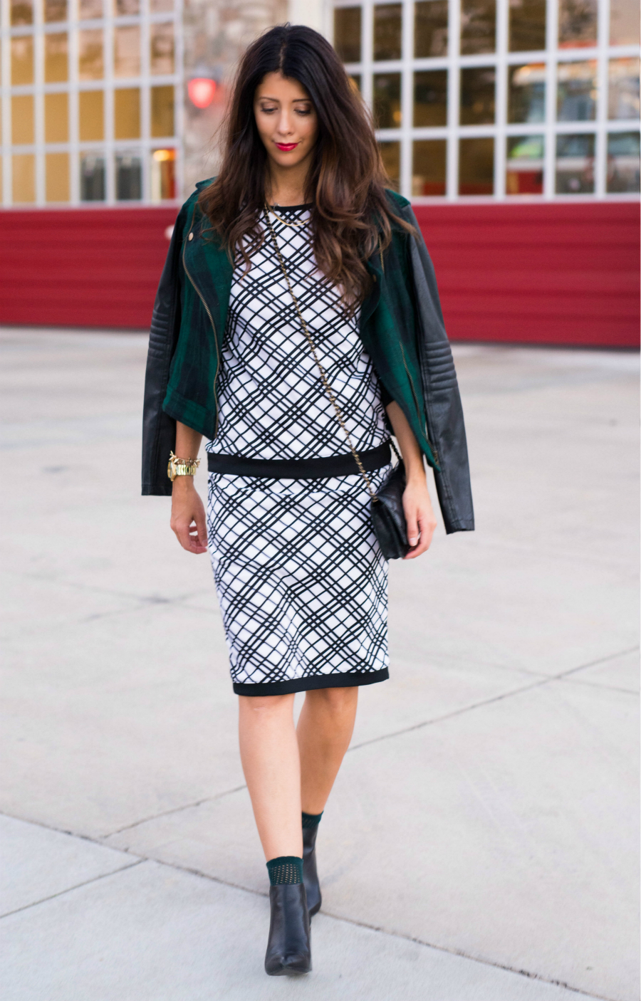 Skirt, Jacket & Boots