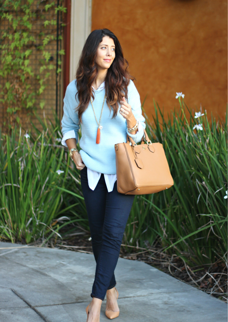 Sweater & Jeans