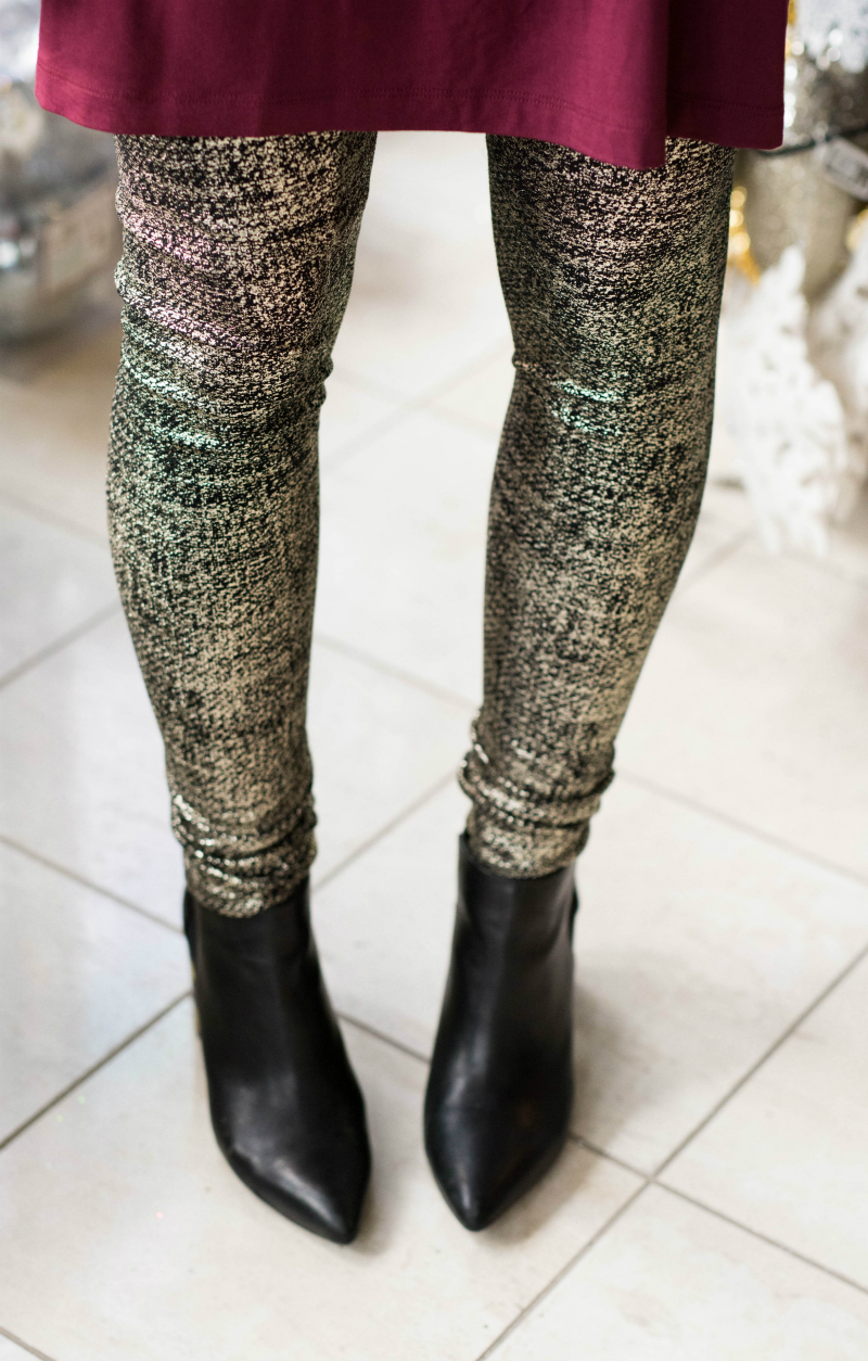 Gold Shimmer Leggings