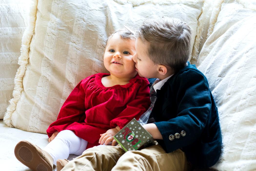 Rowen & Lettie Christmas 2014
