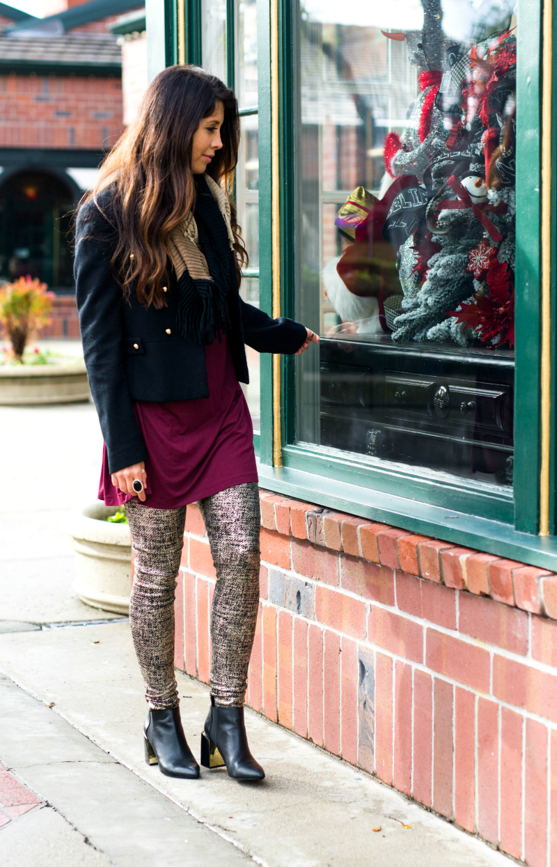 White Plum Leggings