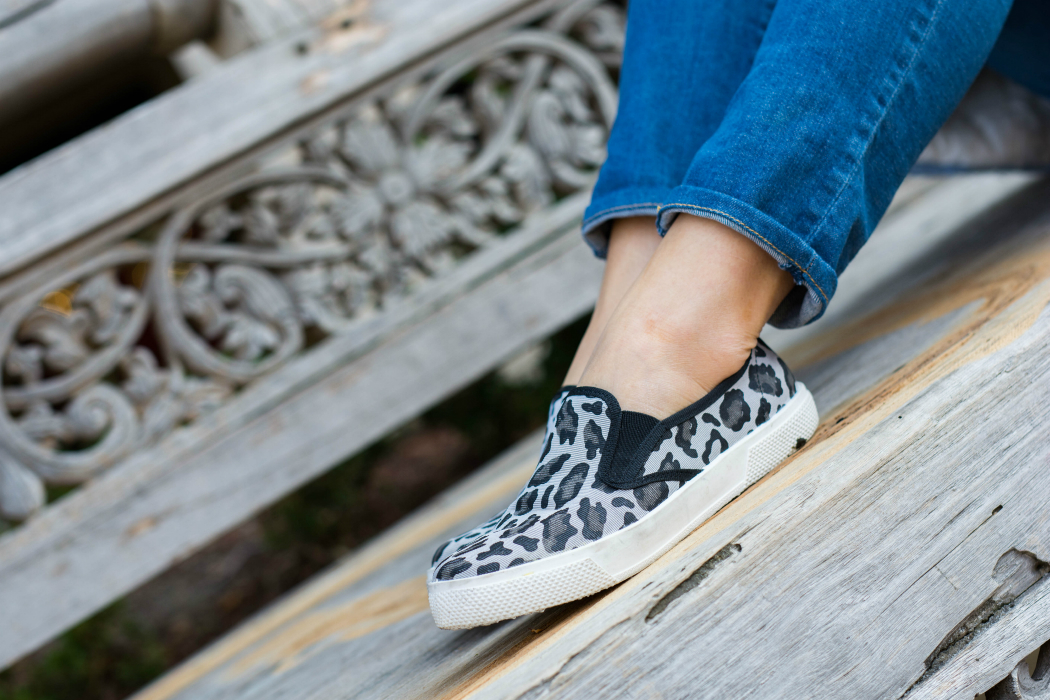 Leopard Sneakers + Denim