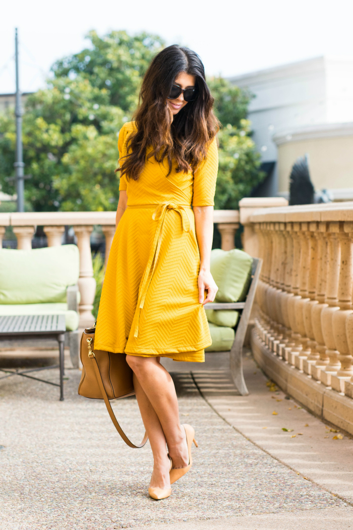 Shabby Apple Yellow Dress
