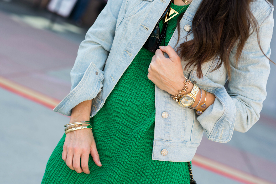 Gold Jewels, Denim Jacket