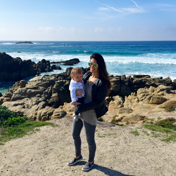Lettie and I at Pebble Beach