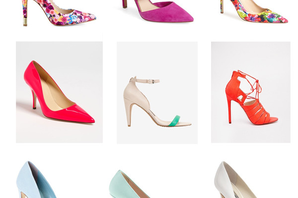 Colorful Heels For Spring …