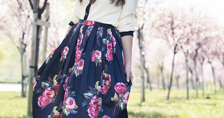 Spring Is Here // Floral Skirts Under $50