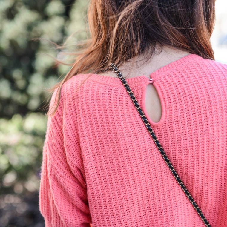 Coral Sweater