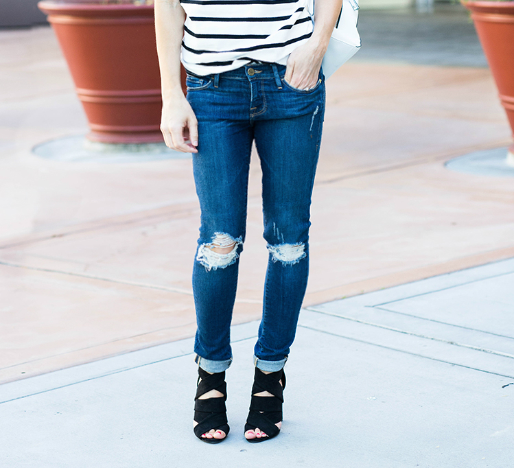 Distresed jeans