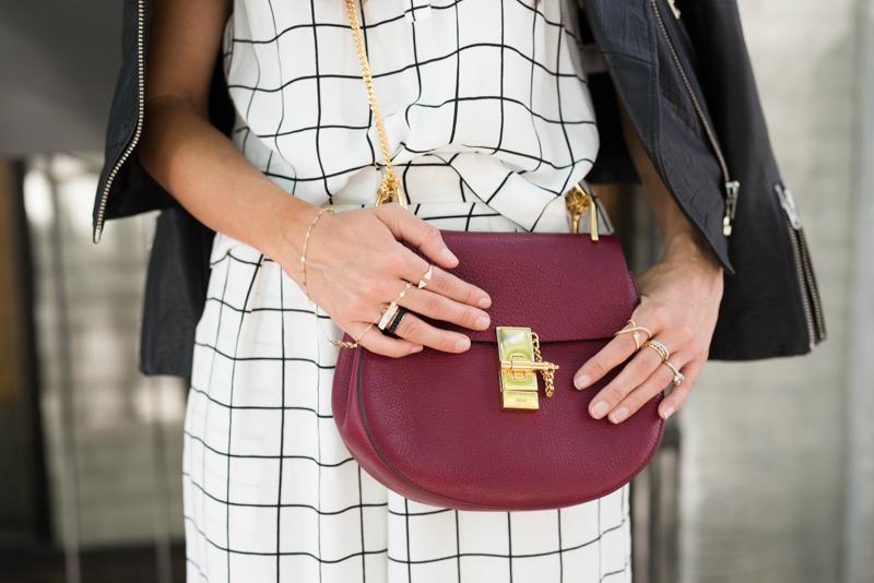Layered Jewels + Chloe Bag