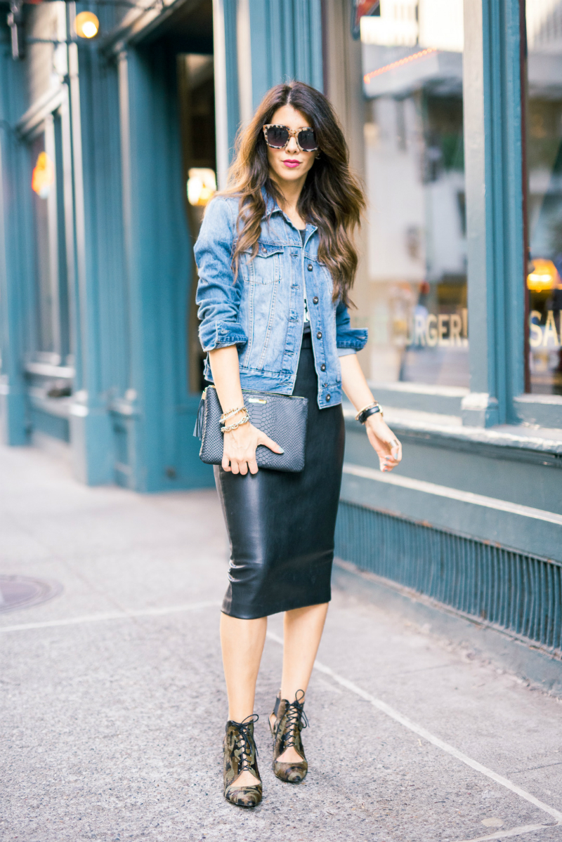 Denim, Leather, Cameo