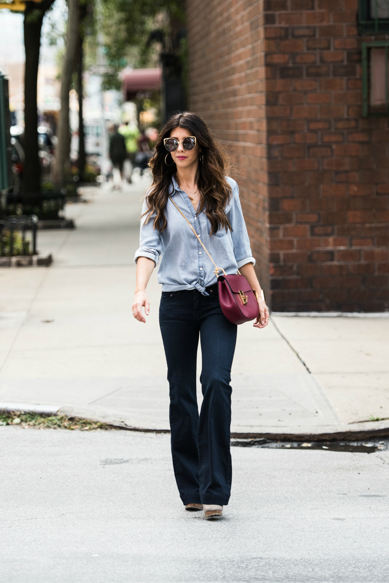 Street Style, Flare Jeans
