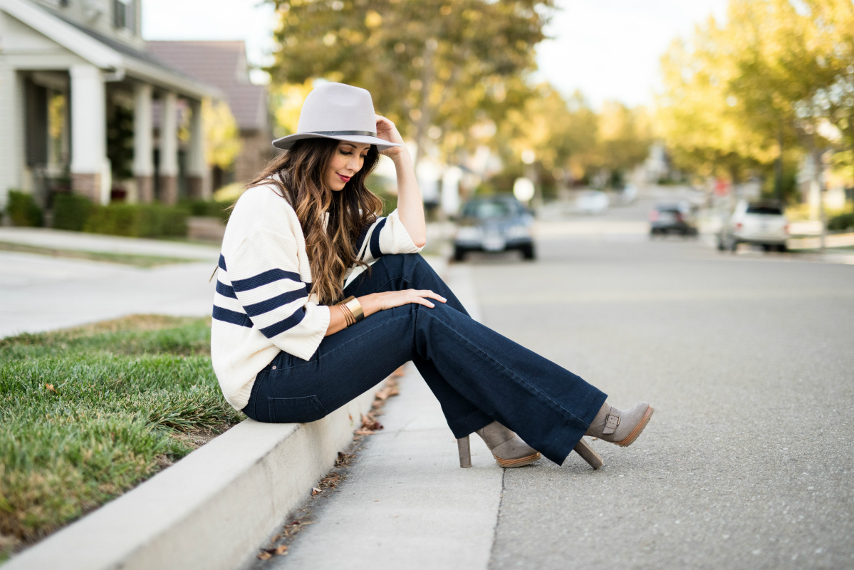 The Girl in the Yellow Dress- Fall Jeans & Hats