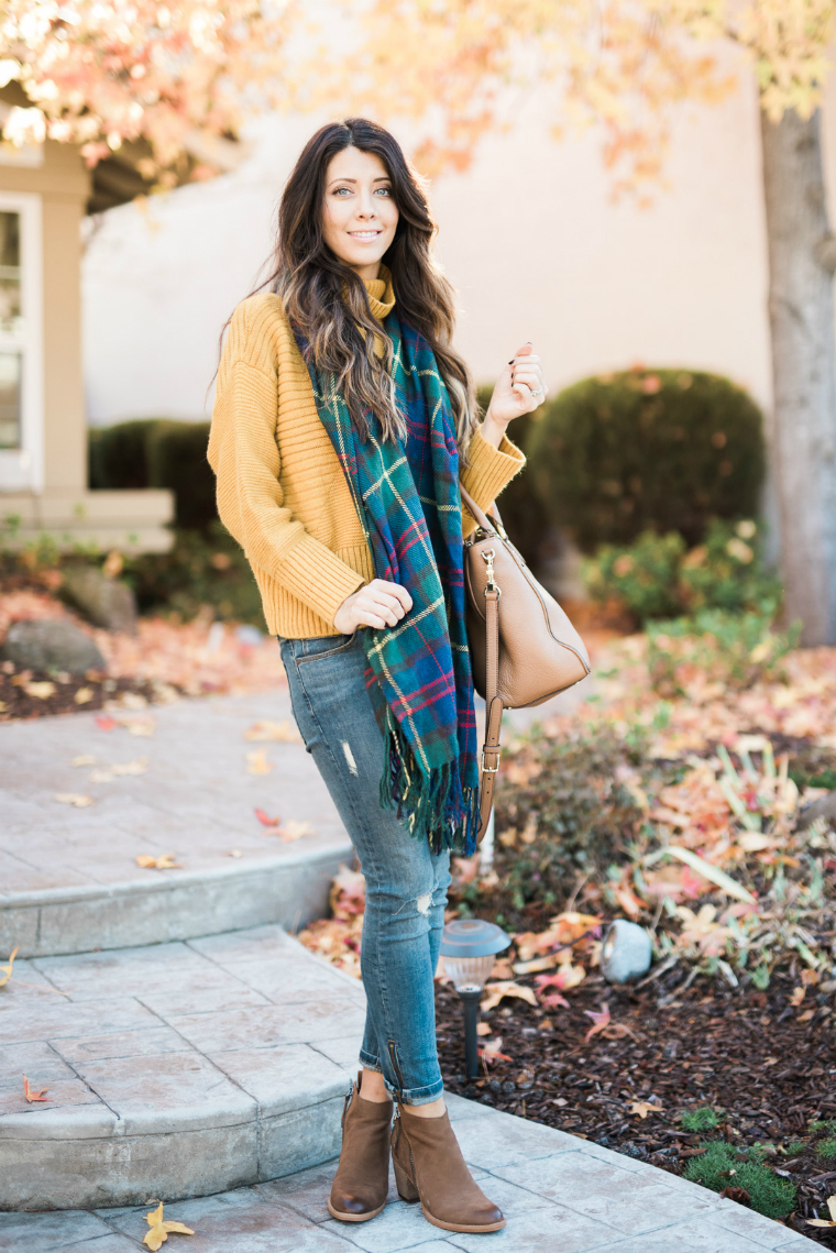 scarf and yellow sweater (10)