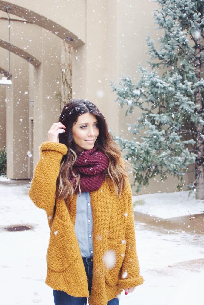Sweater & Scarf