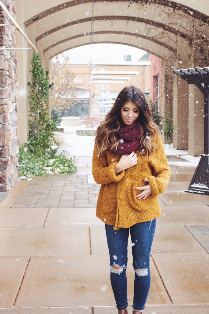Comfy Sweater & Scarf