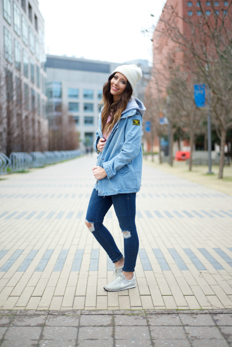Denim Jacket + Jeans