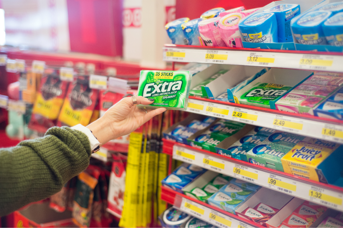 Extra Gum at Target