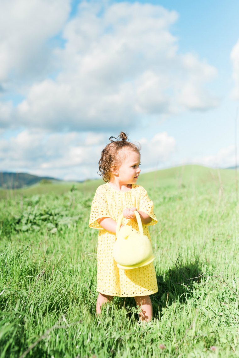 Yellow Gap Dress