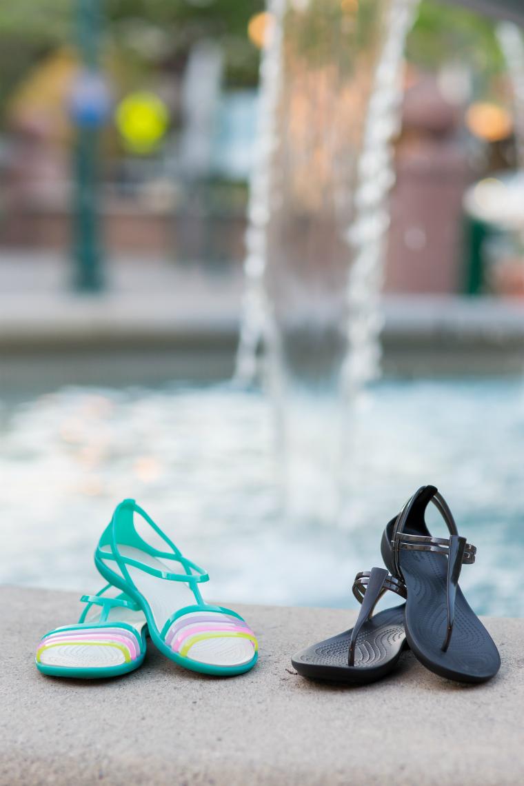 Croc womens sandals