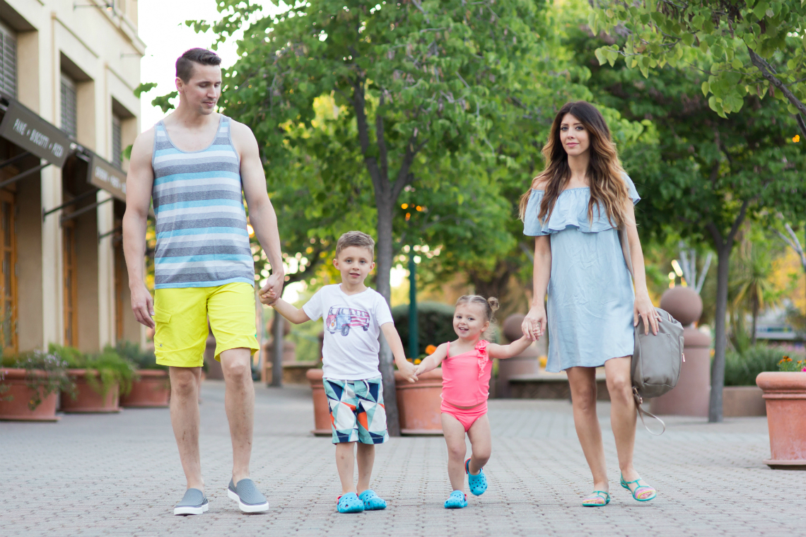 Crocs for the whole family 3