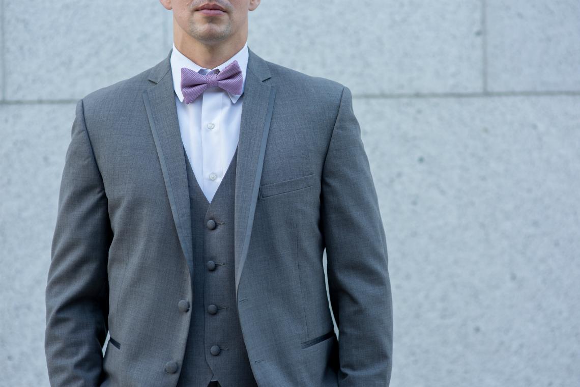 Grey Tux