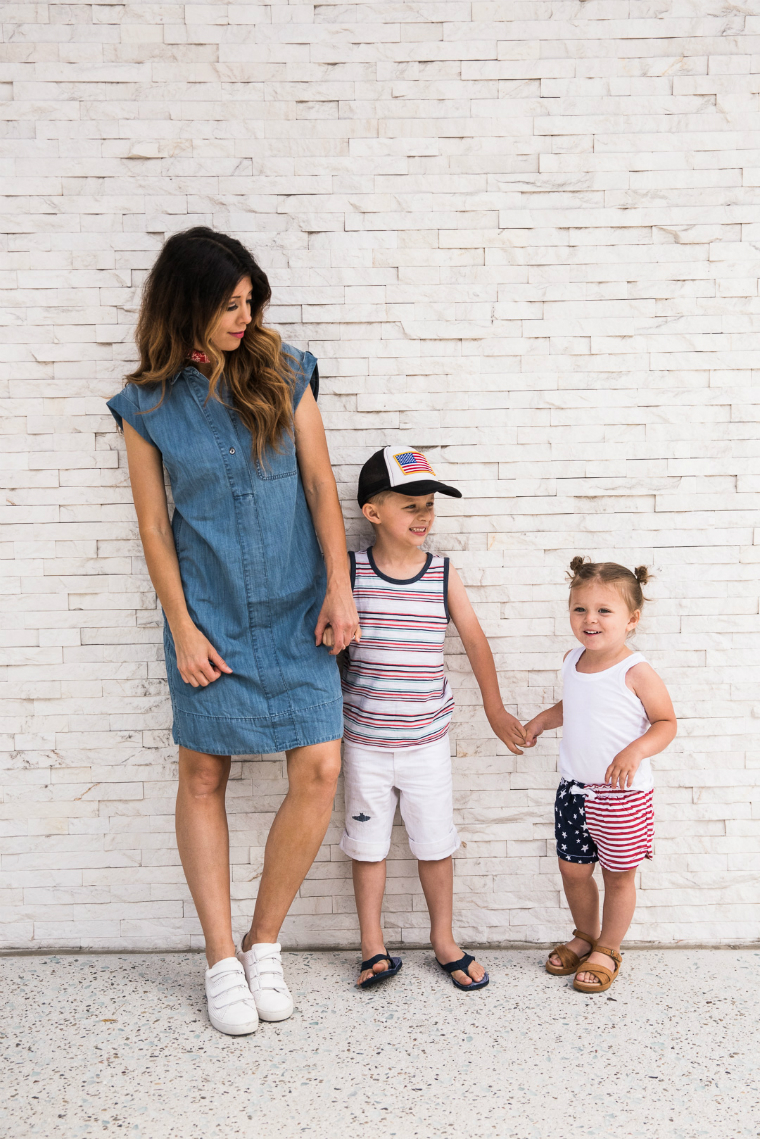 4th of july Family Looks | The Girl in the Yellow Dress