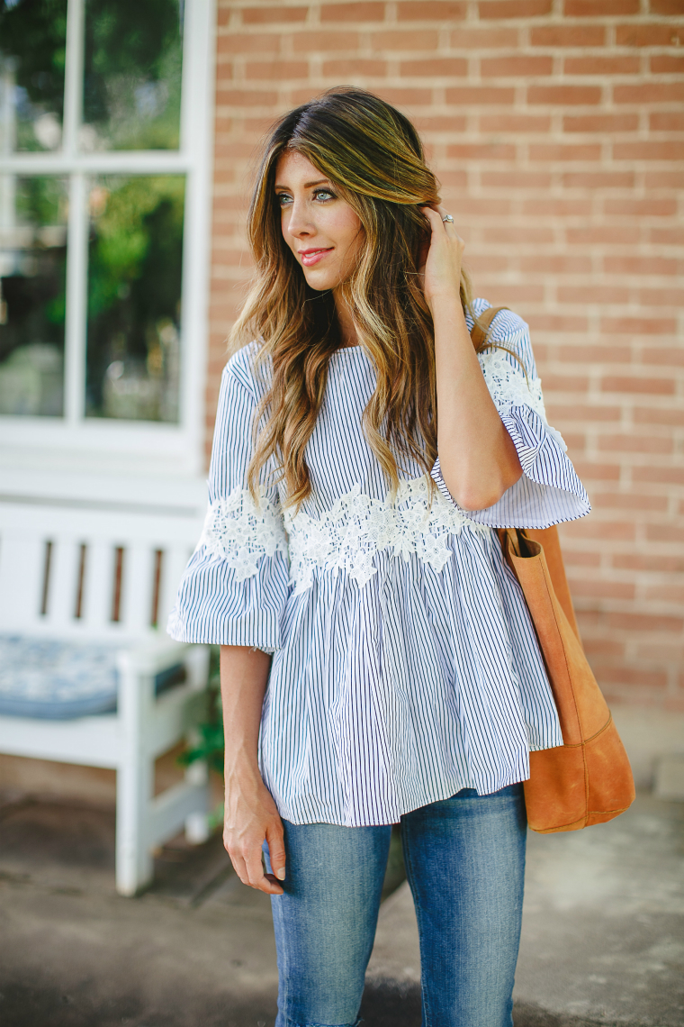 The Perfect Floral Blouse