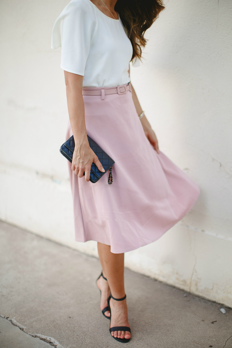 Perfect Midi Skirt | The Girl in the Yellow Dress