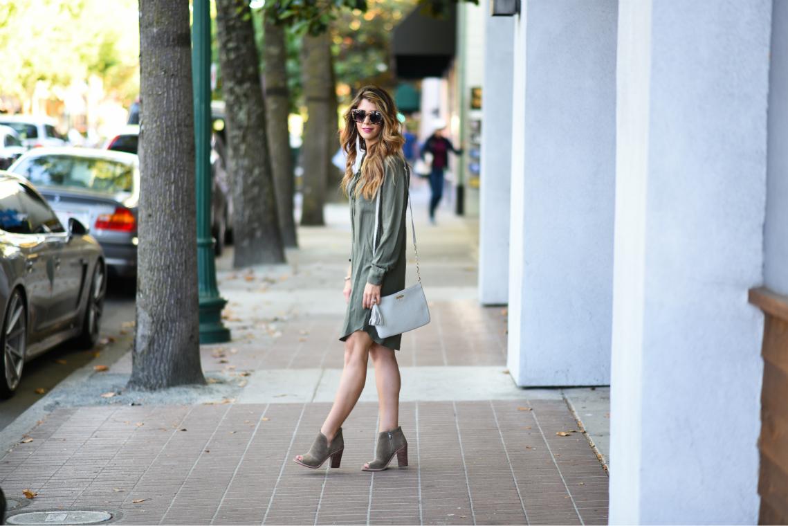 Olive Dress 1