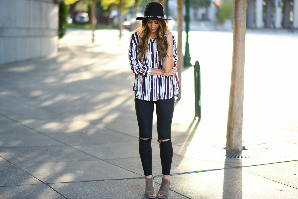 Striped top 7