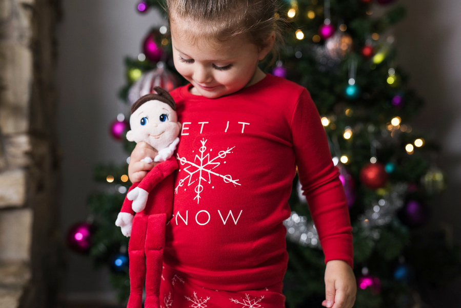 Christmas Jammies With Old Navy