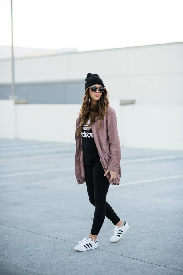 Sporty Casual Look