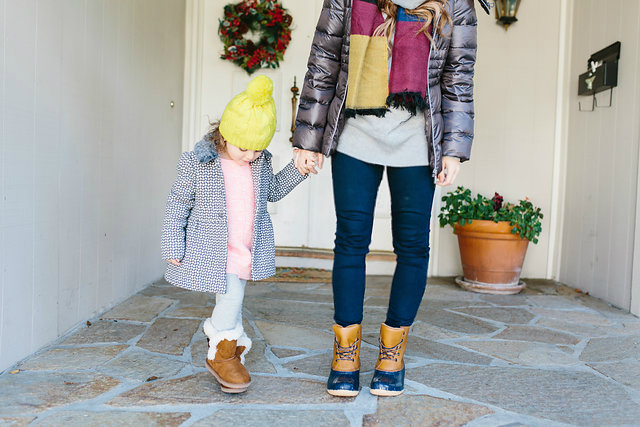 Mother, Daughter Winter Fashion with @Payless