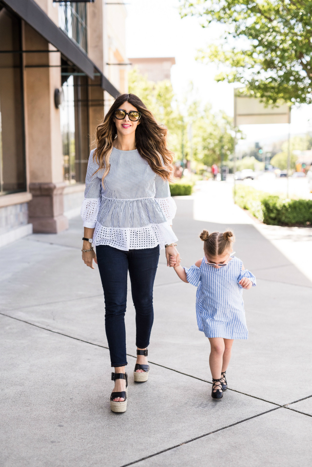 Mommy & Me Looks: Matching in Stripes