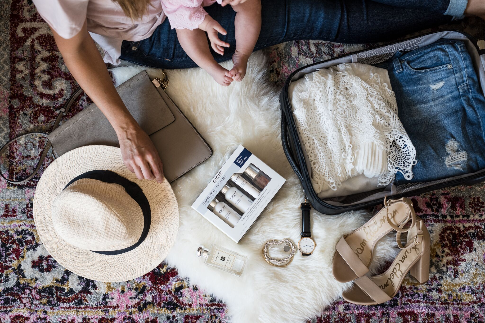 Packing, Travel Must Haves, Baby, DDF Skincare