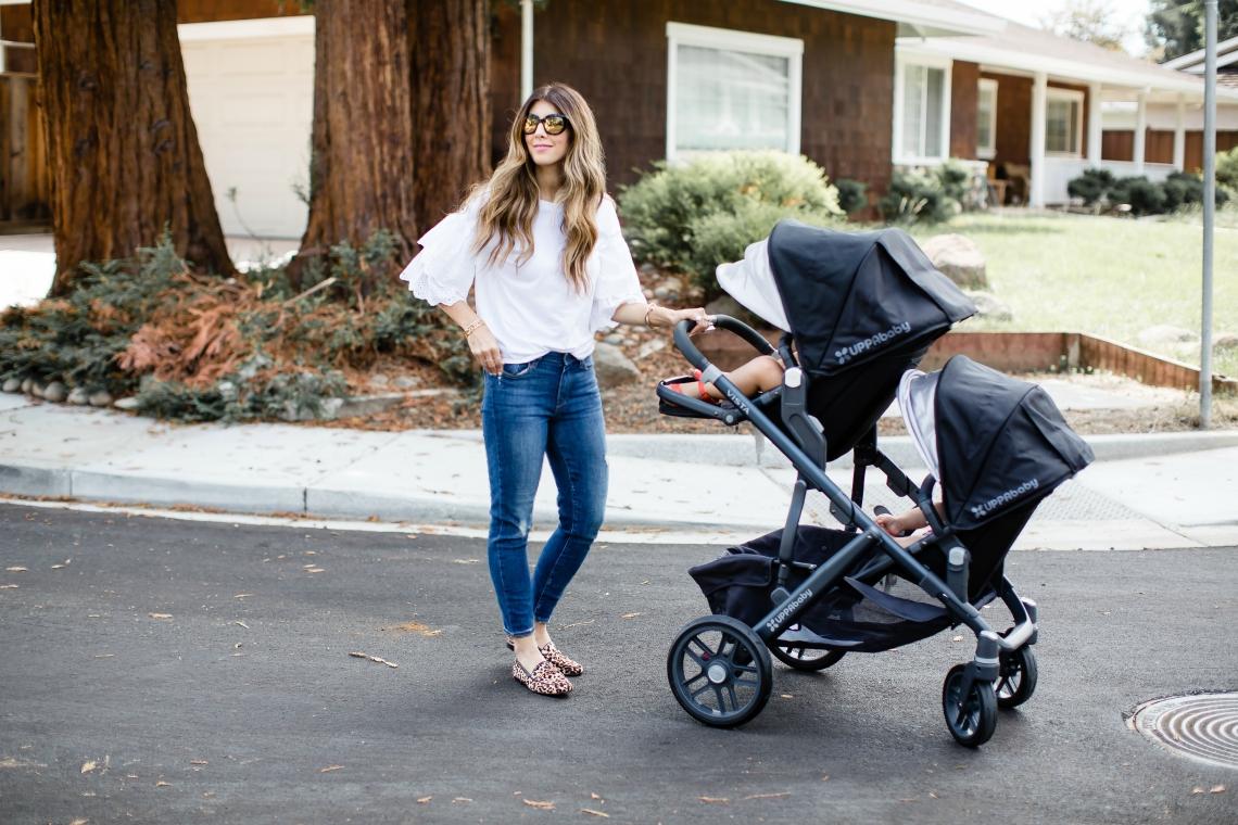 Uppababy Stroller, 2017 VISTA Aluminum Frame Convertible Stroller