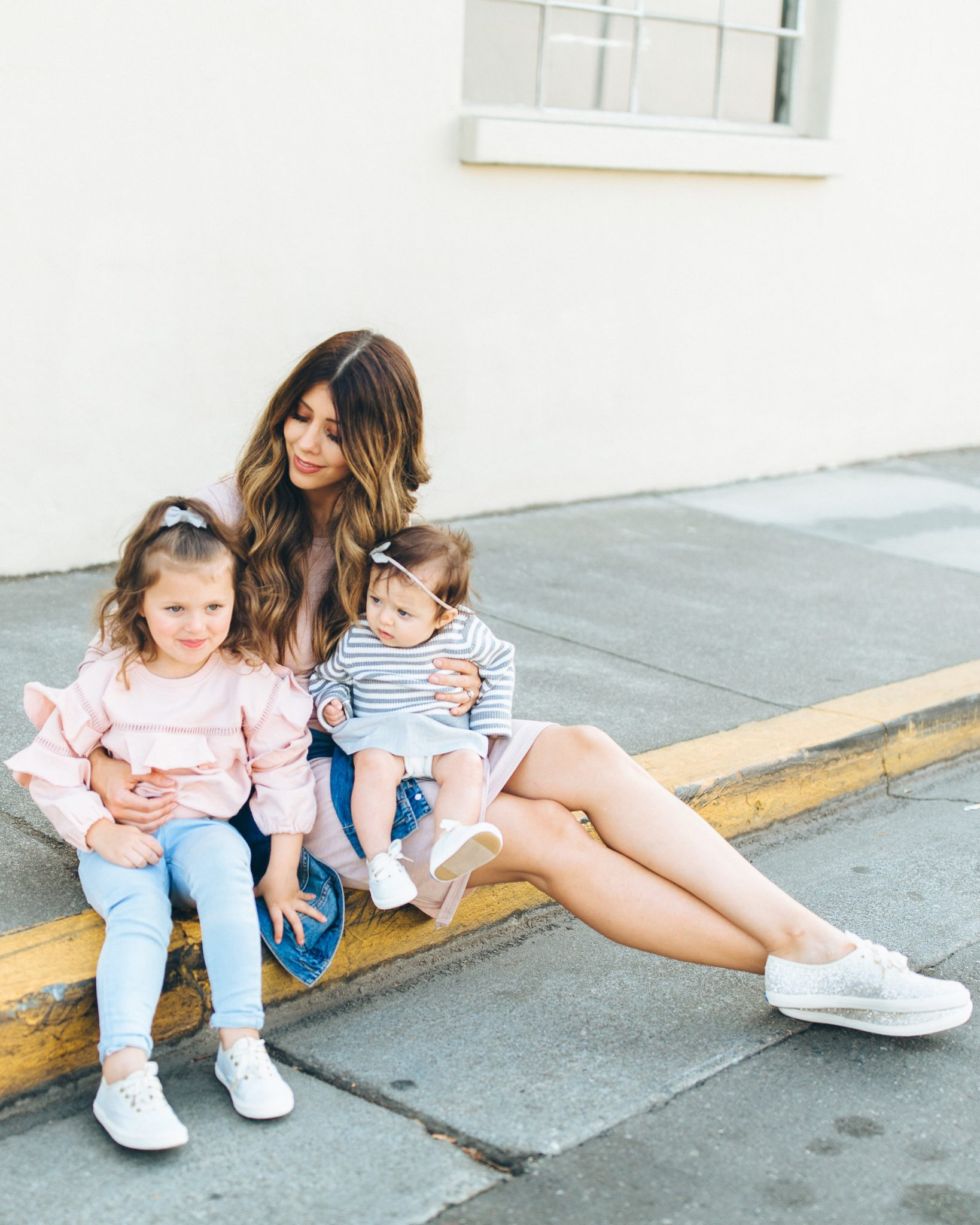 Matching, Keds and Kate Spade Sneakers, Momma and Daughter Matching, Little Girls Gift Guide