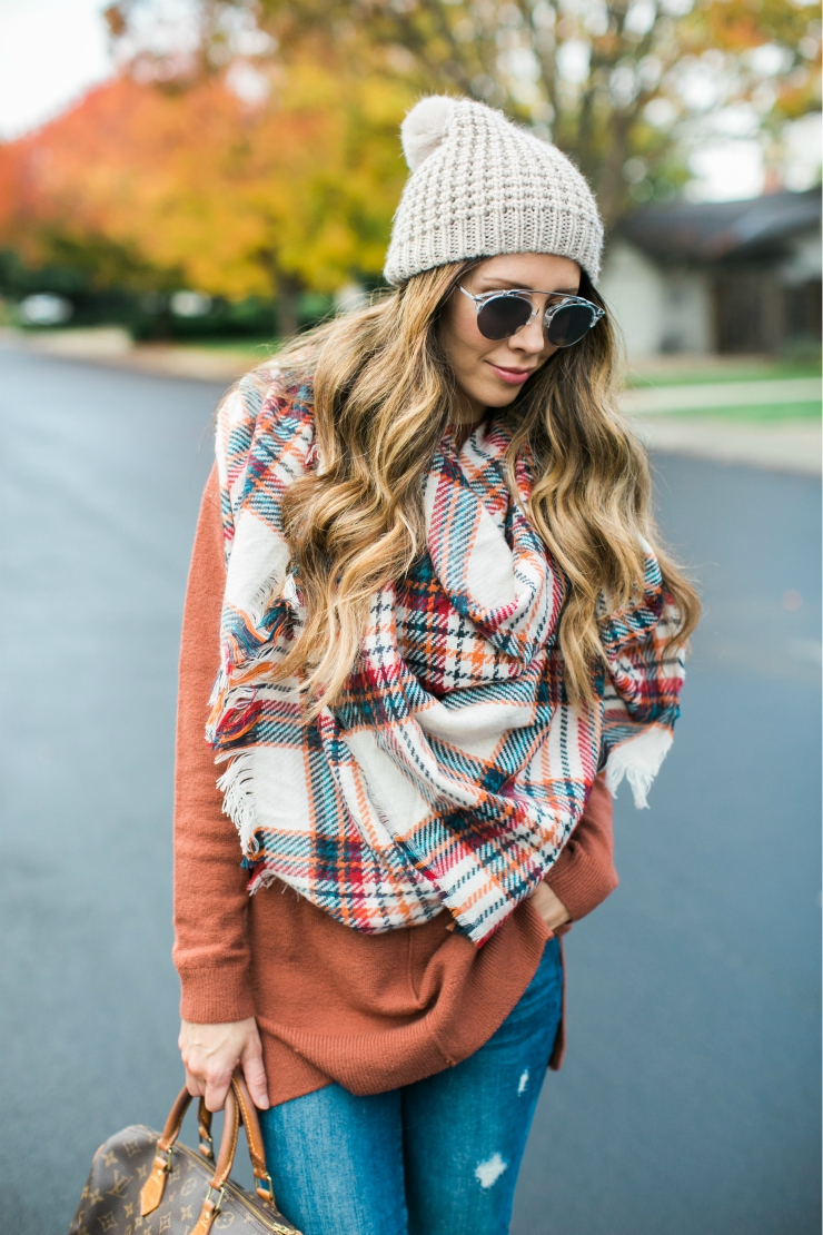 Cropped Christmas Sweater