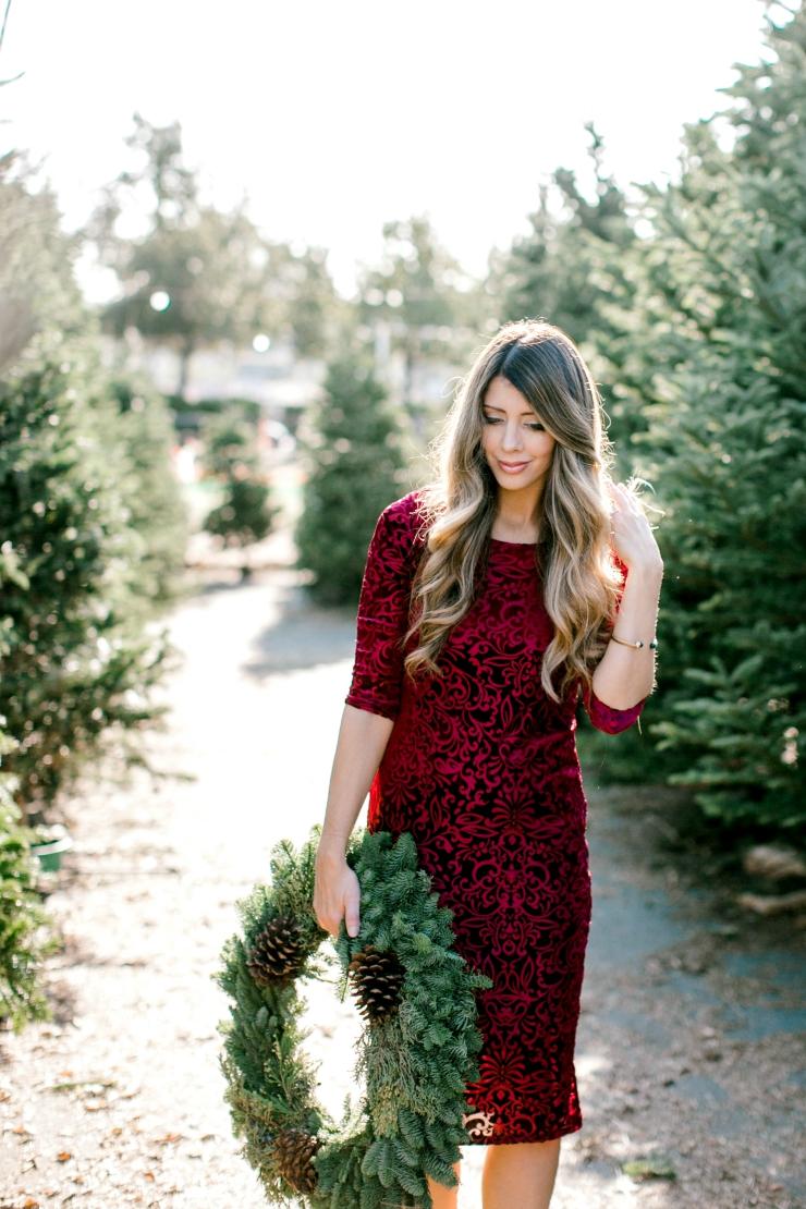 Holiday Sweater Dress