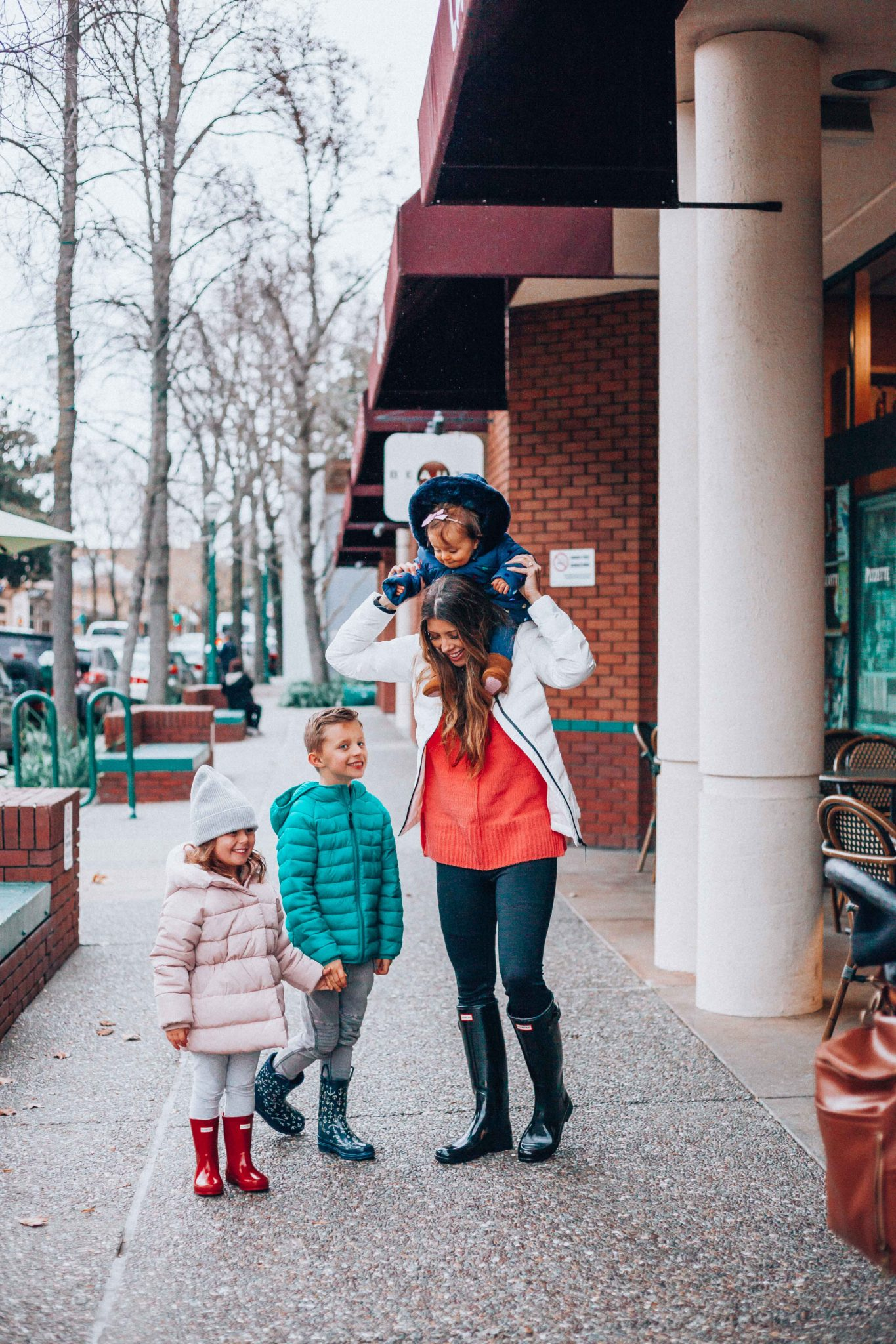 Outdoor Fashion for The Whole Family by popular San Diego fashion blogger The Girl in The Yellow Dress
