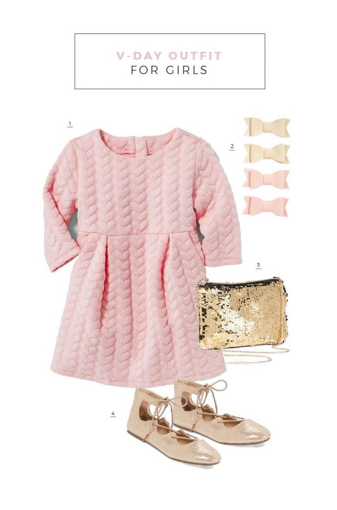 Lovely Valentines Day Outfits for Kids
