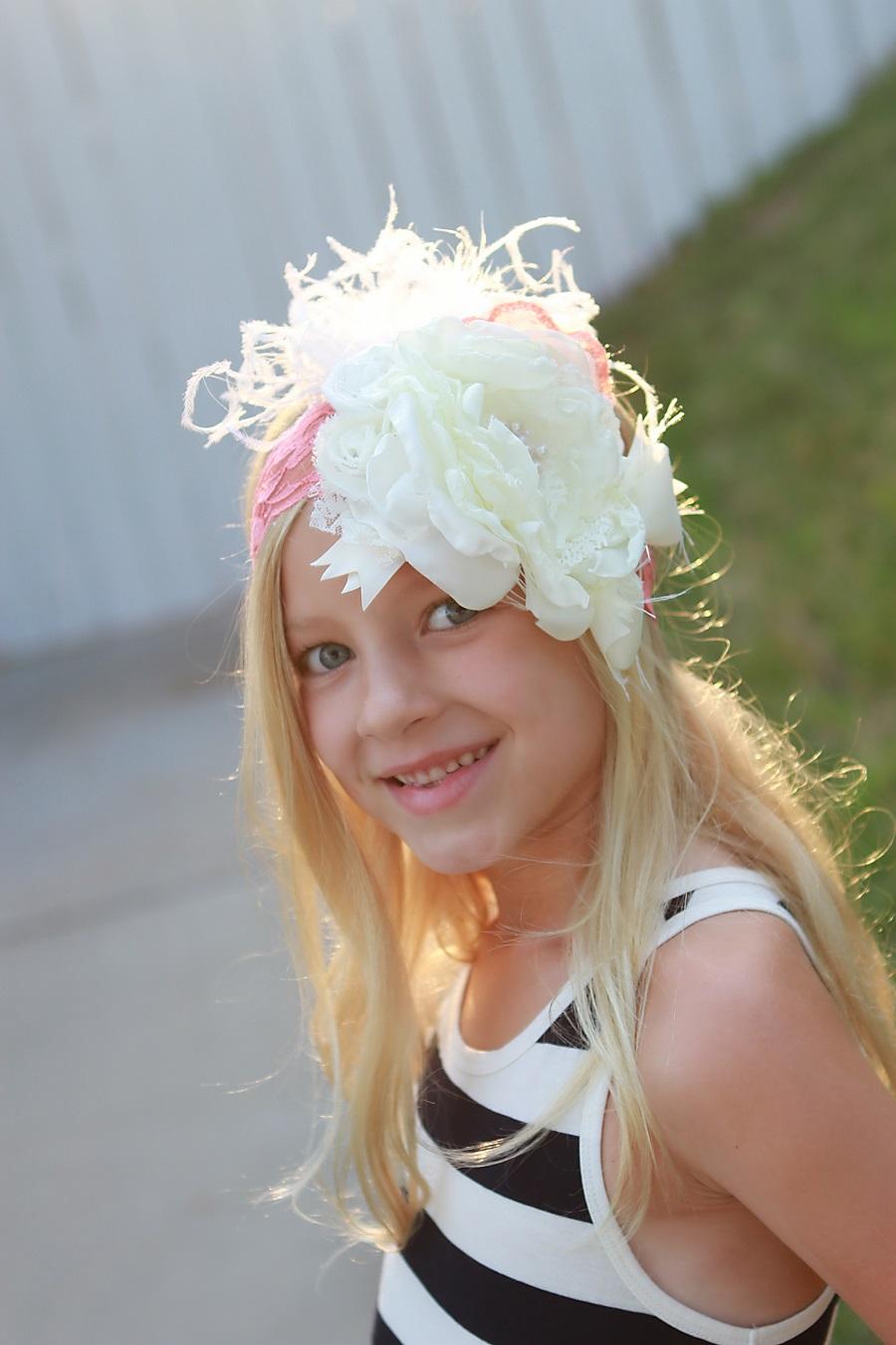Young Girl Models Nn: Little Girls Fashion Featuring Miss J Handmade Designs