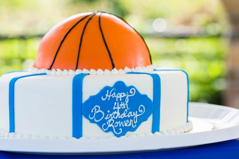 Excellent Basketball Birthday Cake Idea The Girl In The Yellow Dress Funny Birthday Cards Online Benoljebrpdamsfinfo