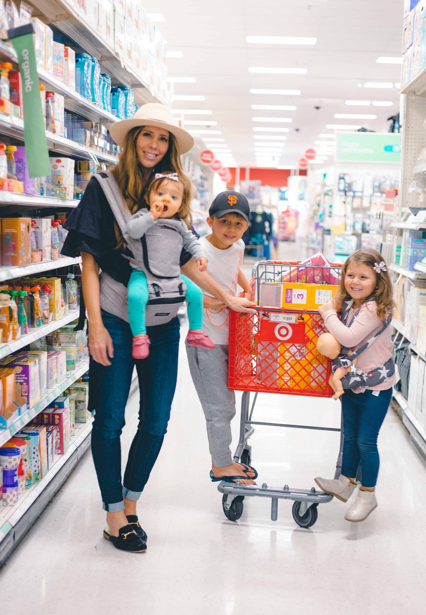 3 Tips For Grocery Shopping With Kids The Girl In The