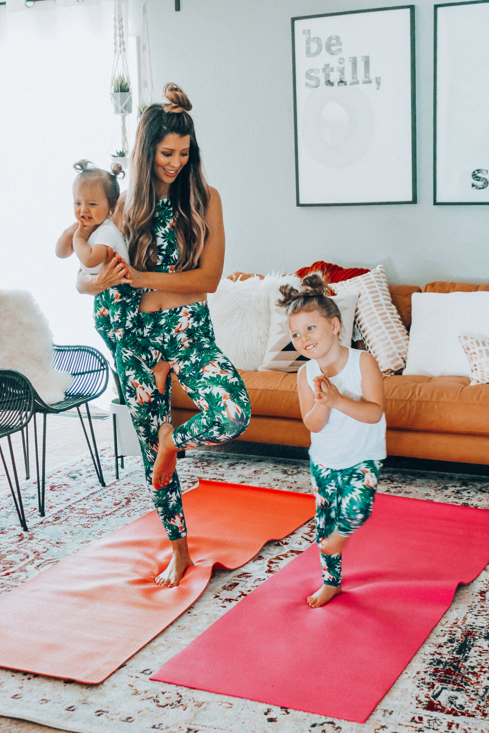 7b45bec29f0f5 3 Relaxation Tips for Moms + Matching Yoga Outfits by popular San Francisco  lifestyle blogger The ...